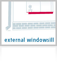External Plastic Windowsills