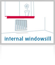 Internal Plastic Windowsills